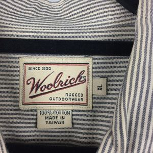 Woolrich Shirts - Woolrich Sz XL Button Front Short Sleeve Shirt